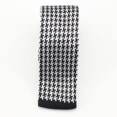 Kruwear Herringbone narrow knitted neck tie necktie tie