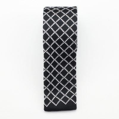 Kruwear diamond knitted necktie neck tie
