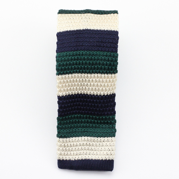 knitted necktie neck tie Kruwear men's wear