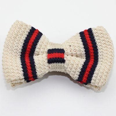 Kruwear knitted bow tie bowtie