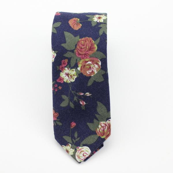 Blue Flowery Neck Tiekruwear Chicago Based Bow Ties Bow Tie Ties