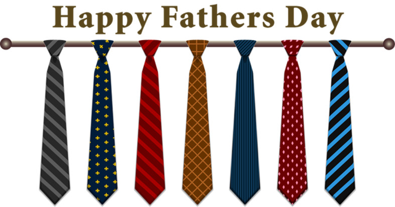 Happy Father's Day from Kruwear men's bow ties, neckties and men's accessories.