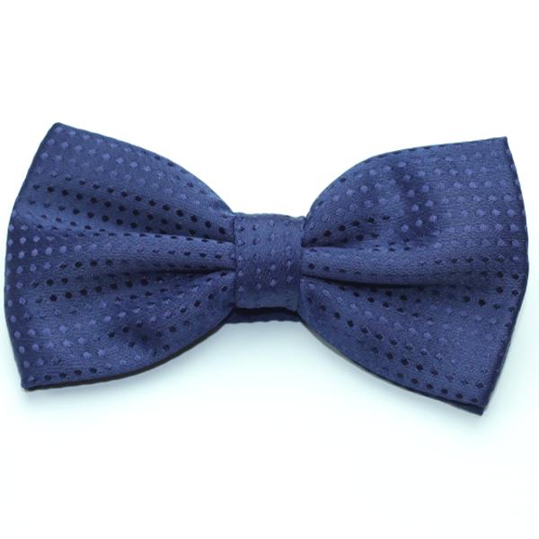 Kruwear Navy Blue bow tie bowtie