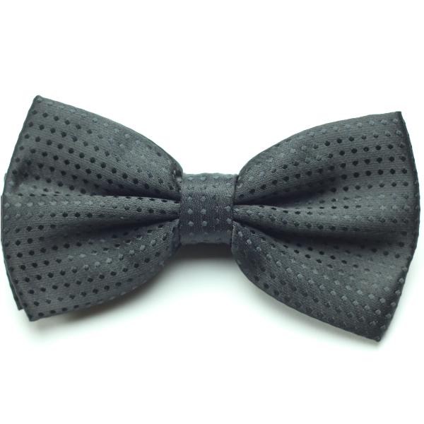Kruwear black bowtie bow tie pre-tied