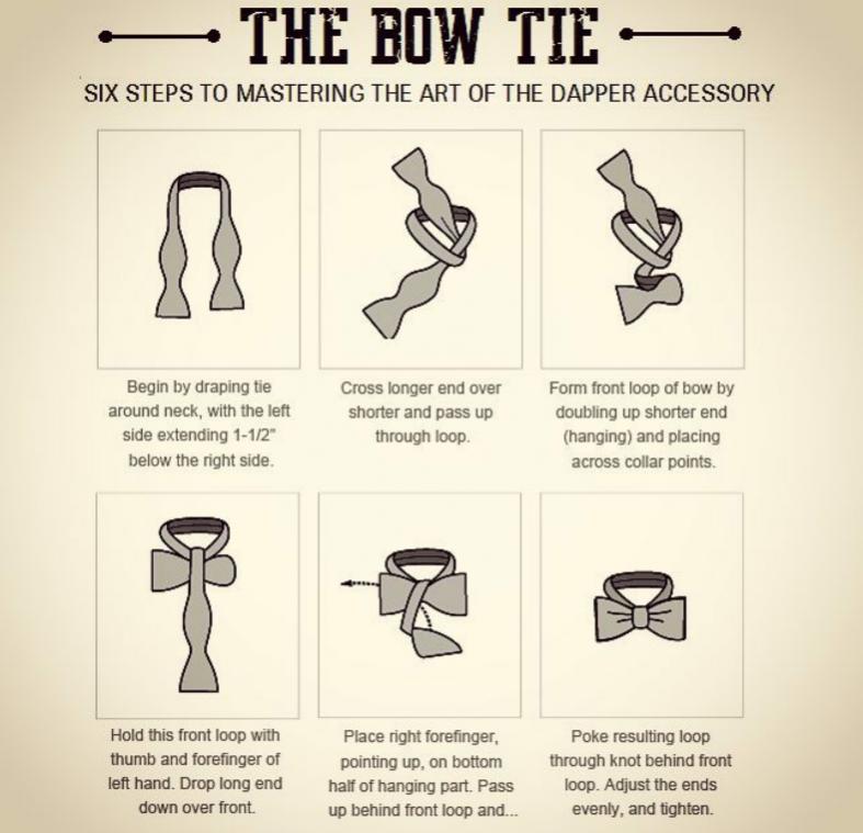 How to tie a self-tie tie