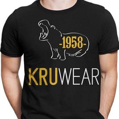 Kruwear t-shirt tshirt Pygmy hippo