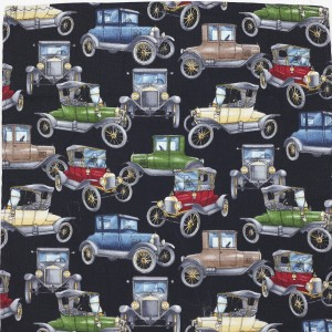 Kruwear Antique Cars Pocket Square.