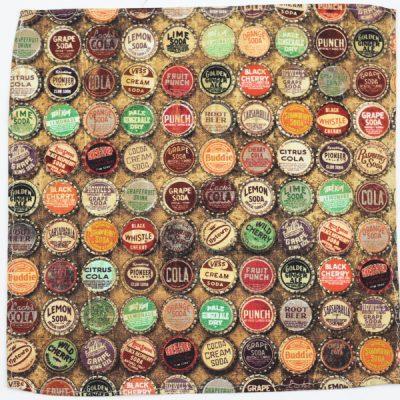 Antique Caps,bottle caps,antique,Pocket Square,Kuwear pocket square,bow tie,Chicago,Kruwear bow ties,
