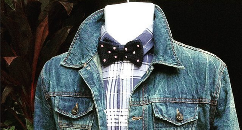 The Perfect Kruwear Bow Tie To Match Your Denim Style