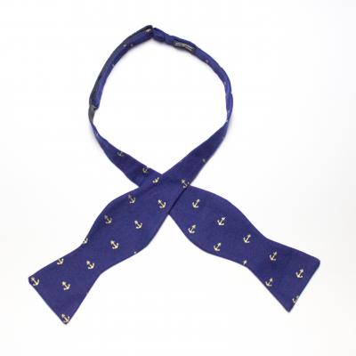 Freeport of Monrovia self-tie bow tie