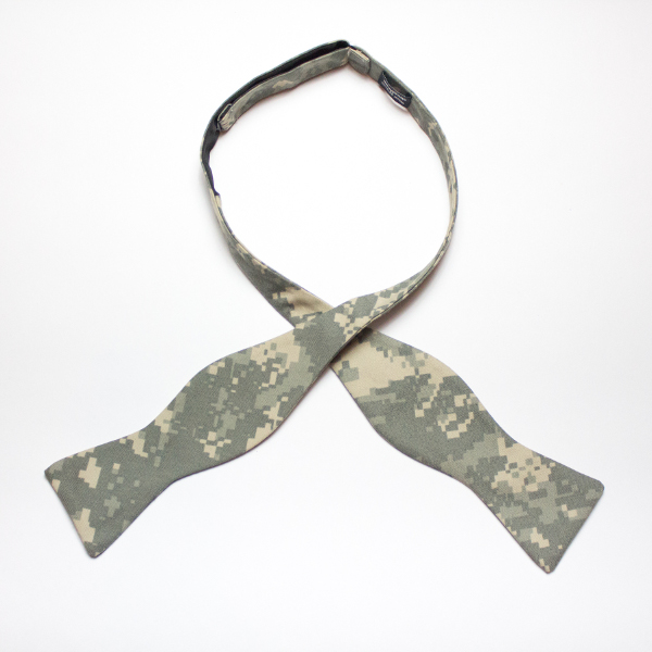 Sgt. Albert Dono Ware Army Digital Camo self-tied bow tie by Kruwear