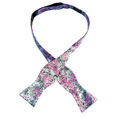 Golakai self-tie bow tie by Chicago-based Kruwear