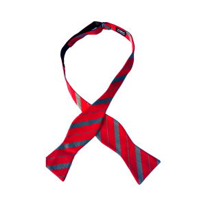 Super Transfer a self-tie bow tie by Chicago-based Kruwear