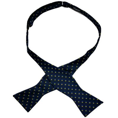 Self-tied bow ties by Chicago-based Kruwear
