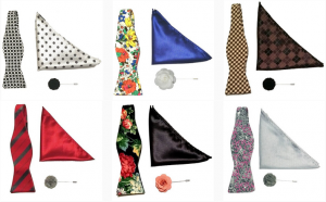 bow ties and pocket squares by Chicago-based Kruwear