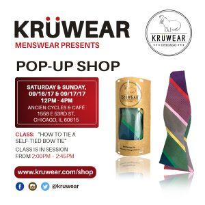 Kruwear Pop-Up Shop