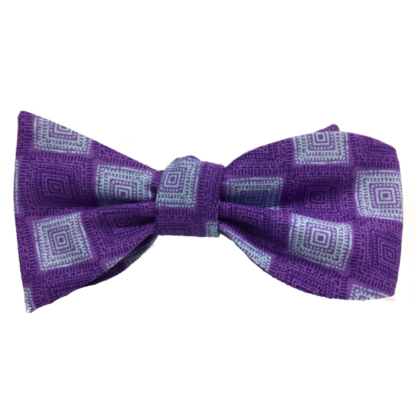 Kruwear 100% cotton self-tied bow tie.