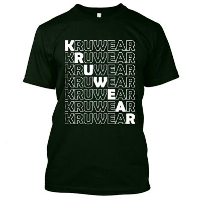 Kruwear Black T-Shirt