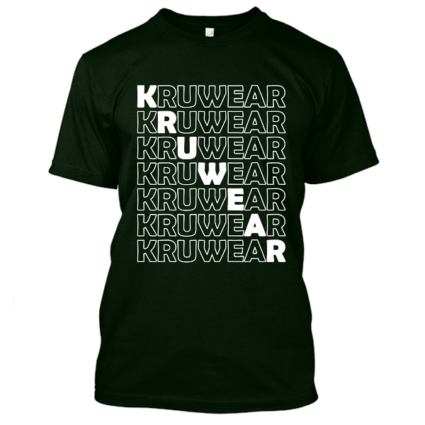 Kruwear Black T-Shirt