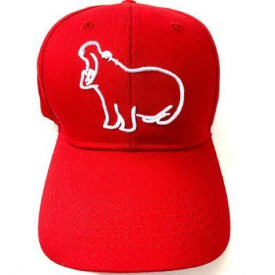 Kruwear logo 3d pygmy hippo embroidered cap