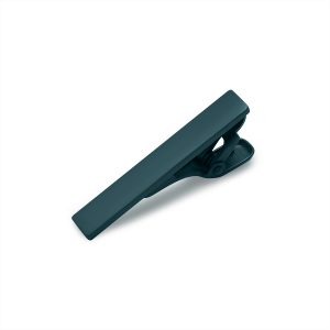 Green Tie Bar Tie Clip