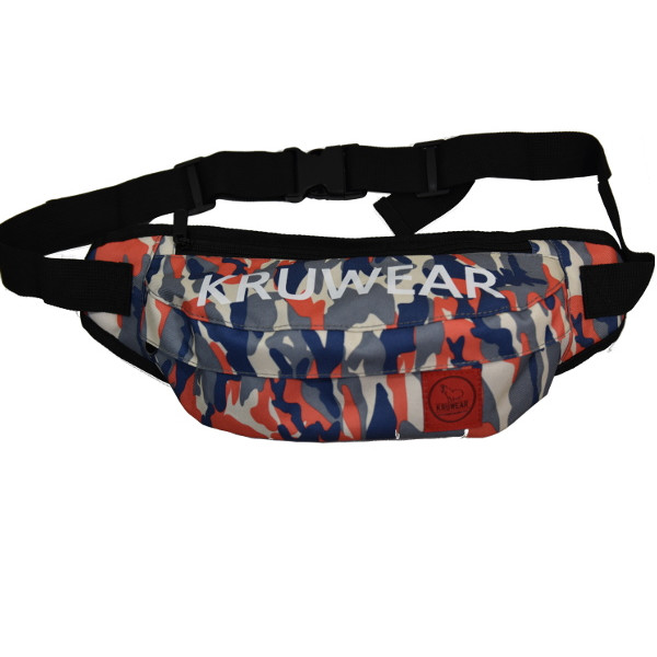 Kruwear colored fanny pack