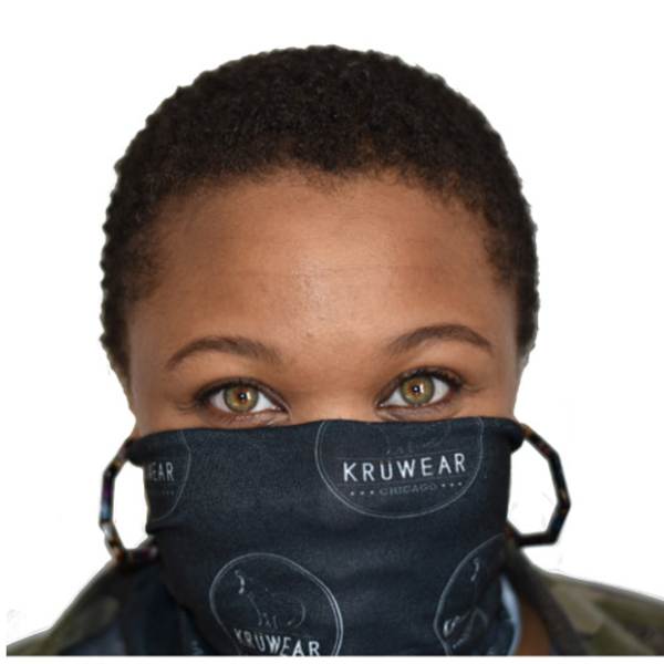 kruwear neck gaiter face mask