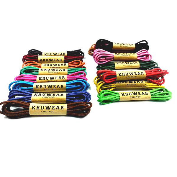 kruwear colorful shoelaces
