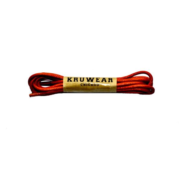orange shoelace