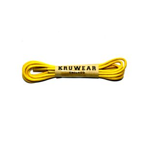 yellow shoelace