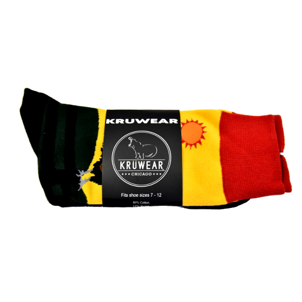 Kruwear Rooster Dress Sock