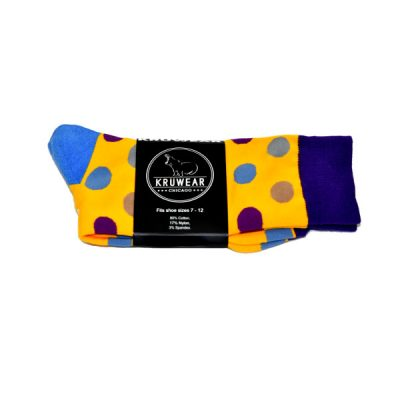 Kruwear Polka Dot dress Socks