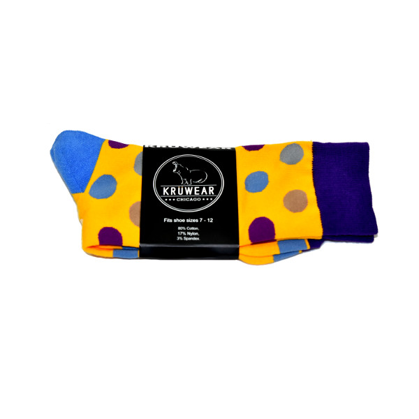 Kruwear Polka Dot dress Socks