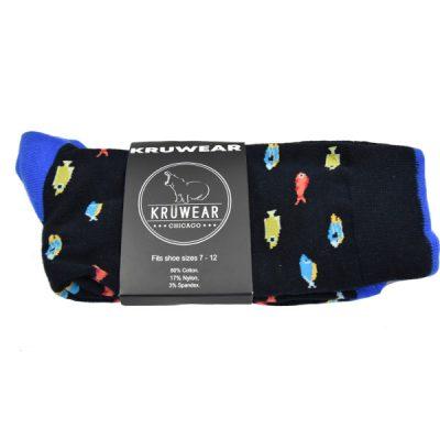 exotic fish socks