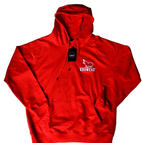 Kruwear Red Hoodie