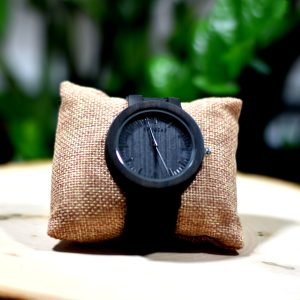Kruwear Ebony wooden watch