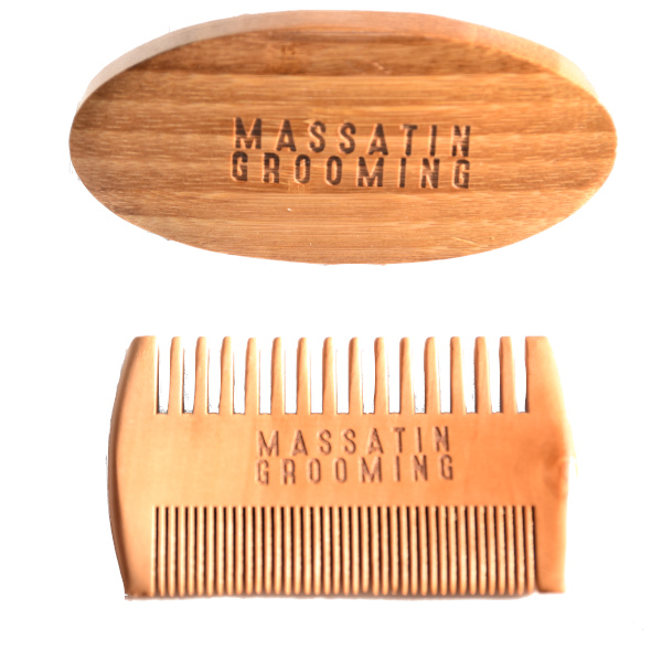 Massatin Grooming beard brush beard comb