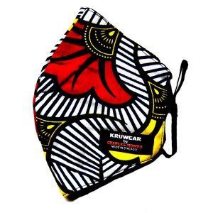 Kruwear African Print Face Mask