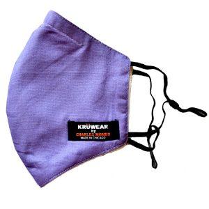 Lavender Color Face Mask
