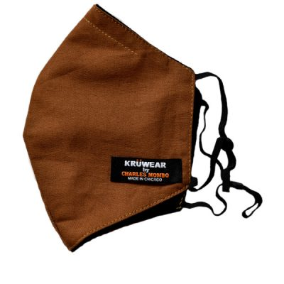Pullman Brown - UPS Brown Face Mask