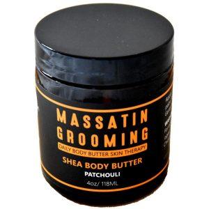 Massatin Grooming Patchouli body butter