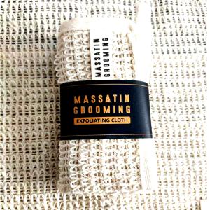 Massatin Grooming sisal exfoliating cloth