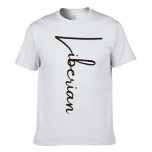 Liberian cursive t-shirt