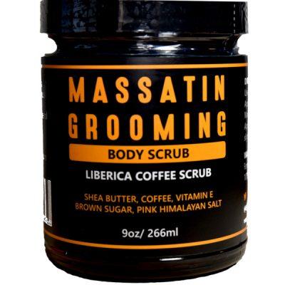 Liberica Coffee Scrub with Shea Butter, Brown Sugar,